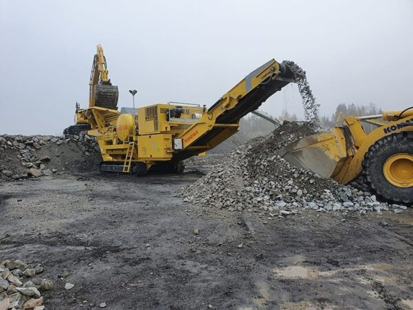Keestrack B6 jaw crusher for sale