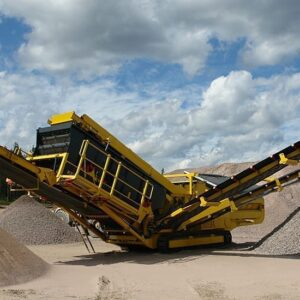 Keestrack C6 Mobile Screening Plant Screener