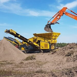 Keestrack K3 track mounted scalping screener