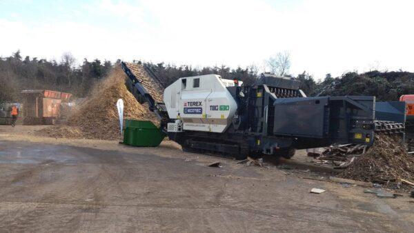 Ecotec TBG 630 high speed shredder