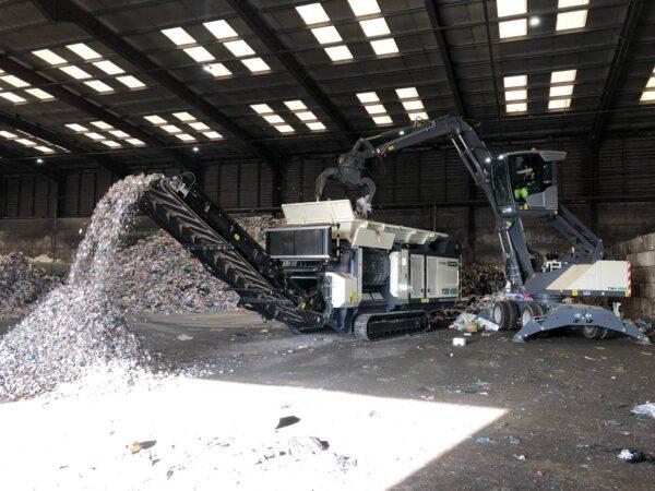Ecotec TDS medium speed shredder