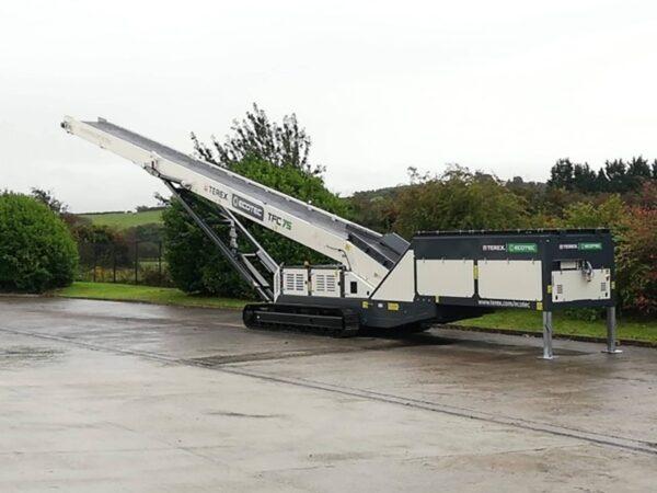 Ecotec TFC 75 feeder stacking conveyor