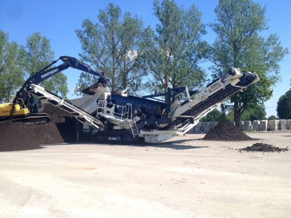 Ecotec TRS550 Tracked Recycling Screening Plant