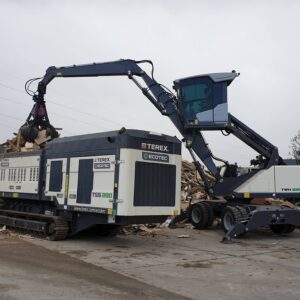 Terex Ecotec TSS 390 slow-speed shredder