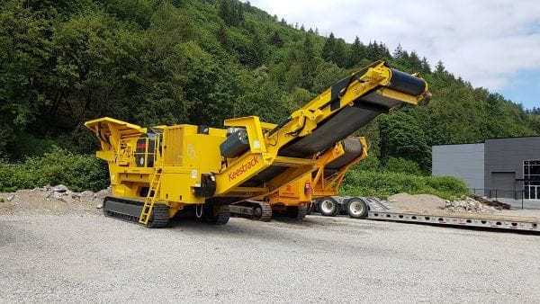Keestrack B5 jaw crusher for sale